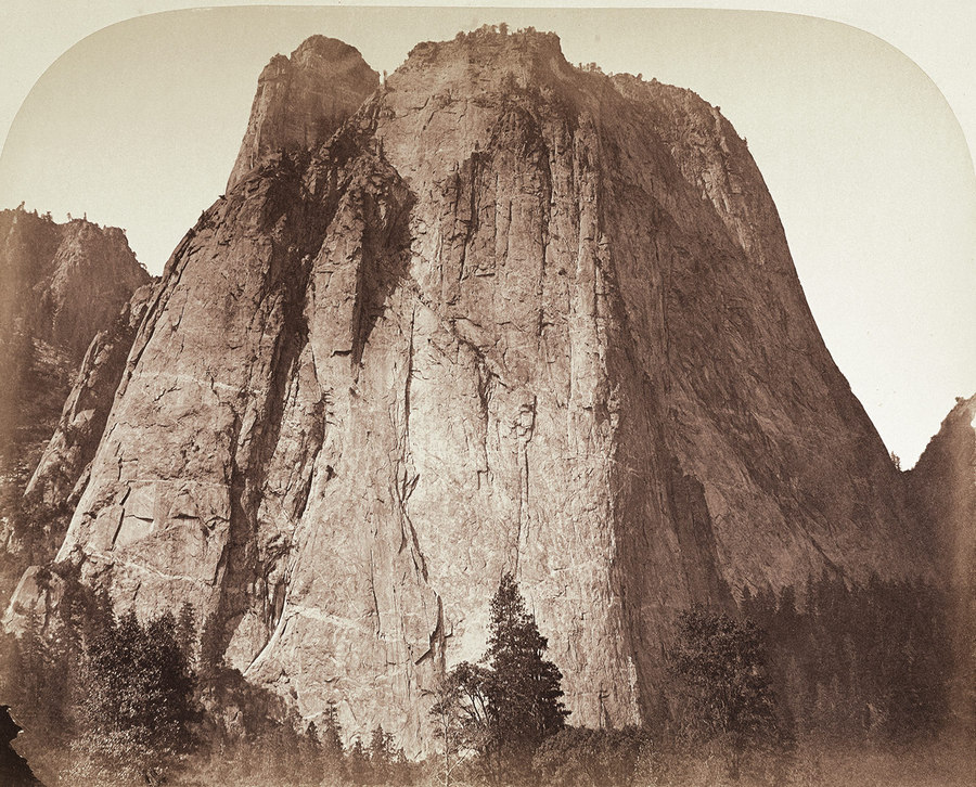 Cathedral Rock Yosemite Carleton Watkins 1861