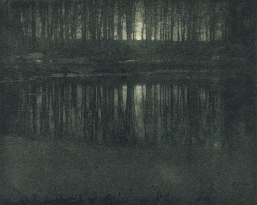 Moonlight The Pond Edward Steichen 1904
