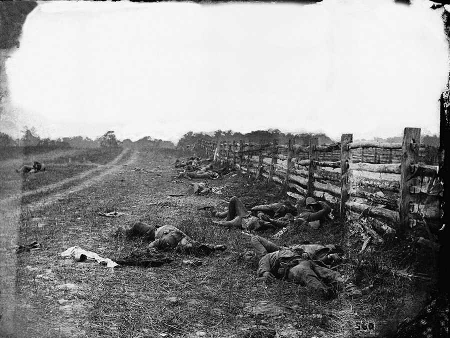 The Dead of Antietam Alexander Gardner 1862