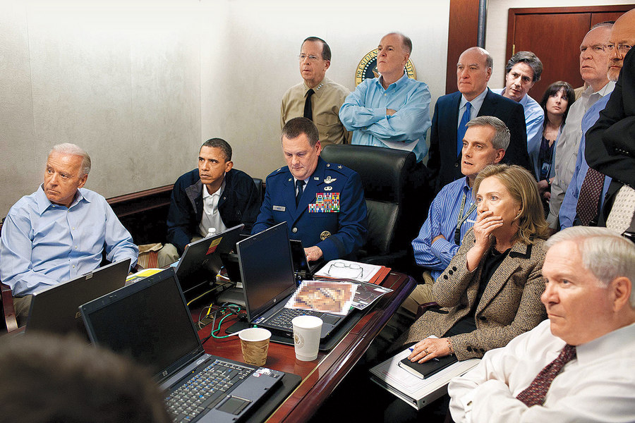 The Situation Room Pete Souza 2011