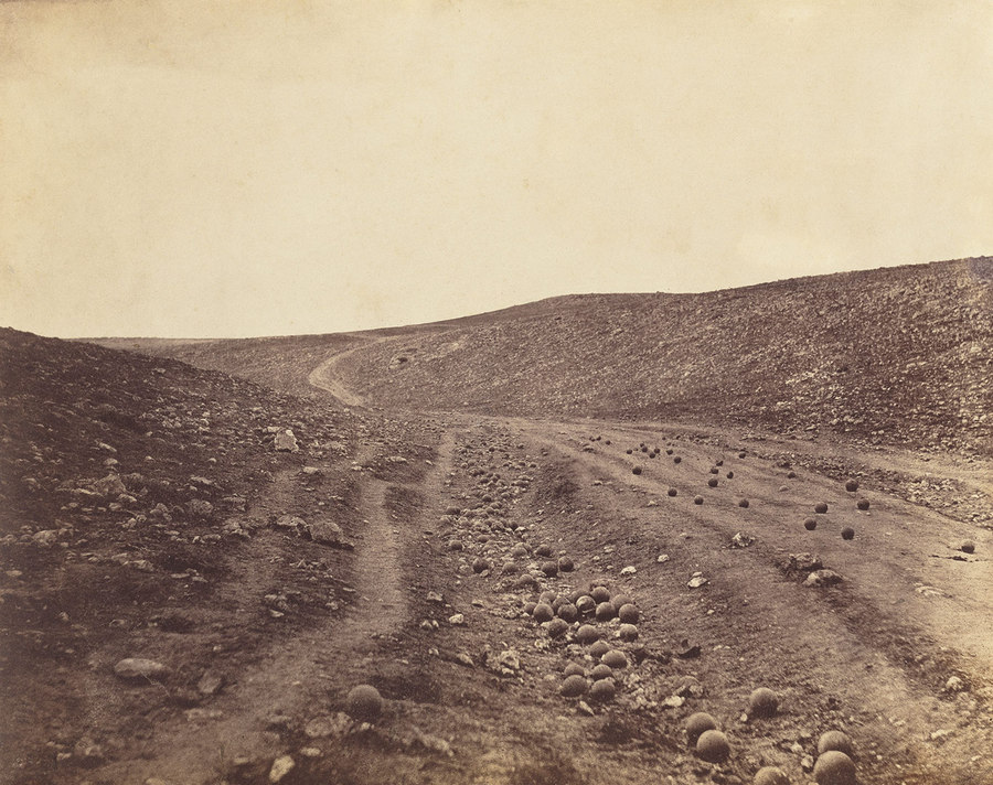 The Valley of the Shadow of Death Roger Fenton 1855