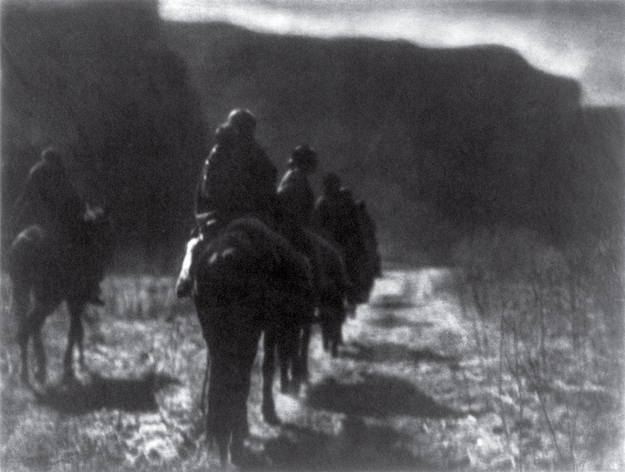 The Vanishing Race Edward S. Curtis 1904