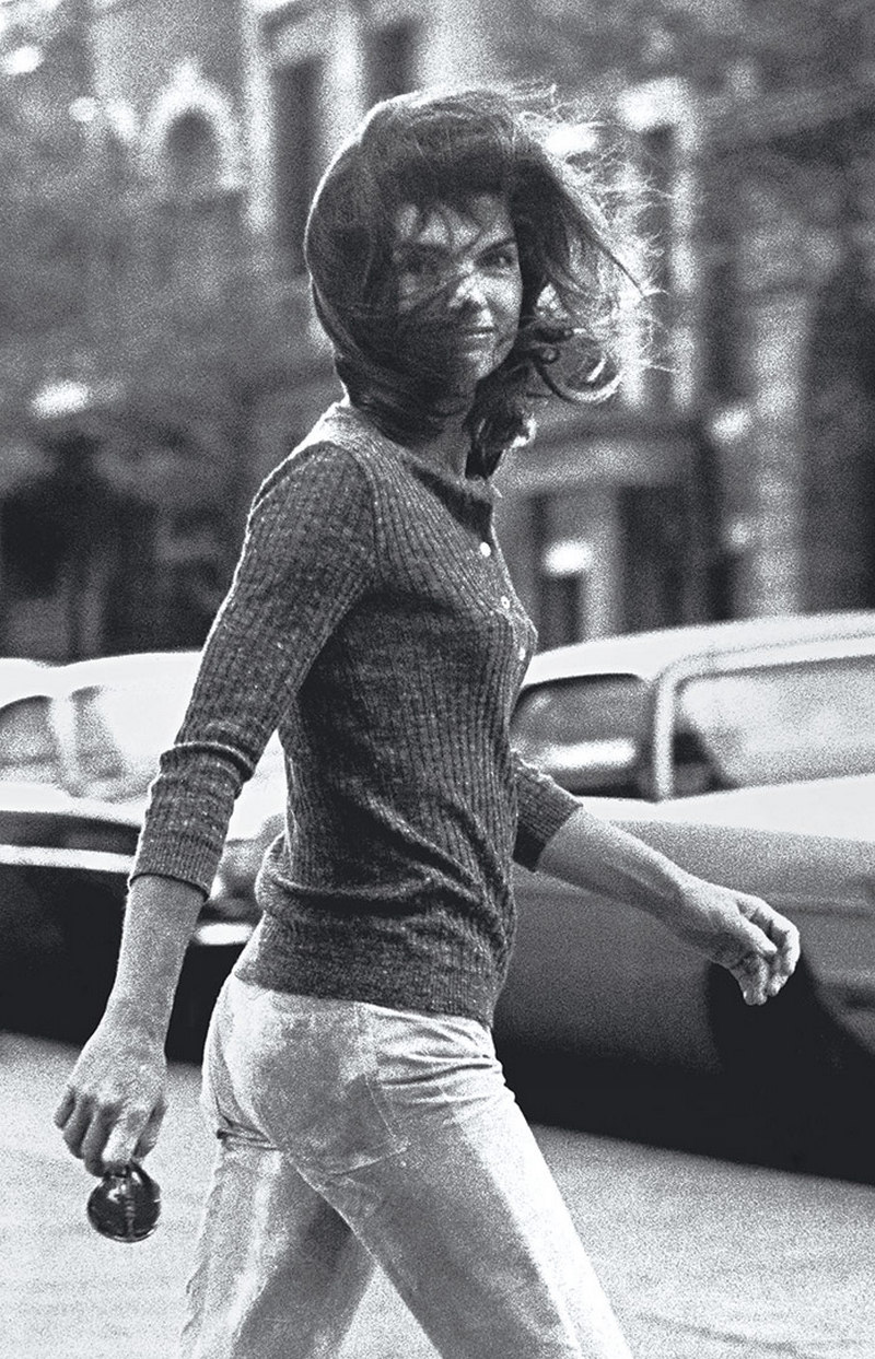 Windblown Jackie Ron Galella 1971