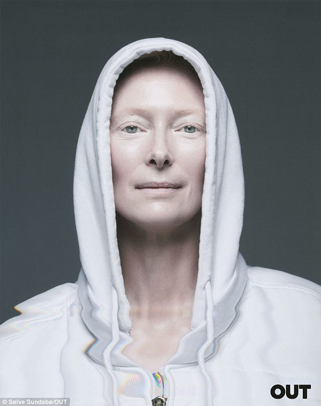 Oscar winner: Tilda has a Cambridge degree and a whole clutch of awards