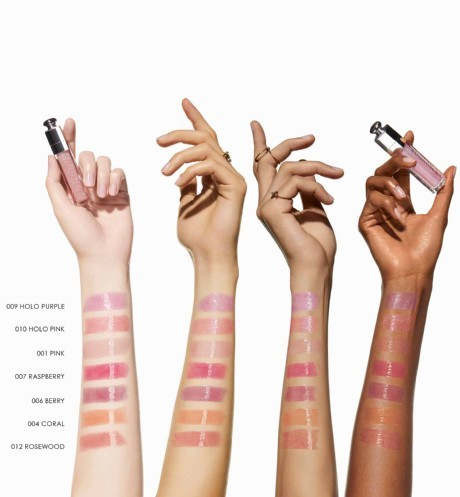Dior Addict Lip Maximizer swatches