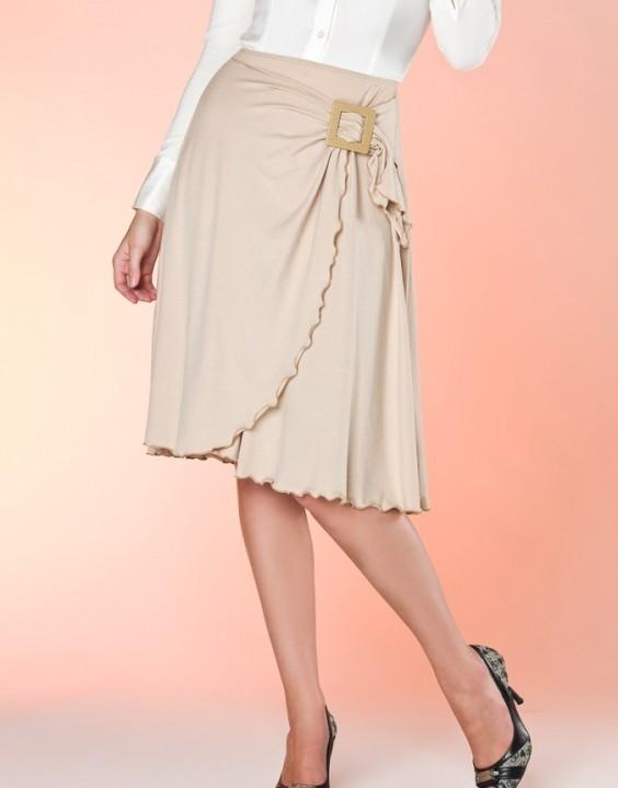 юбка полусолнце с запахом